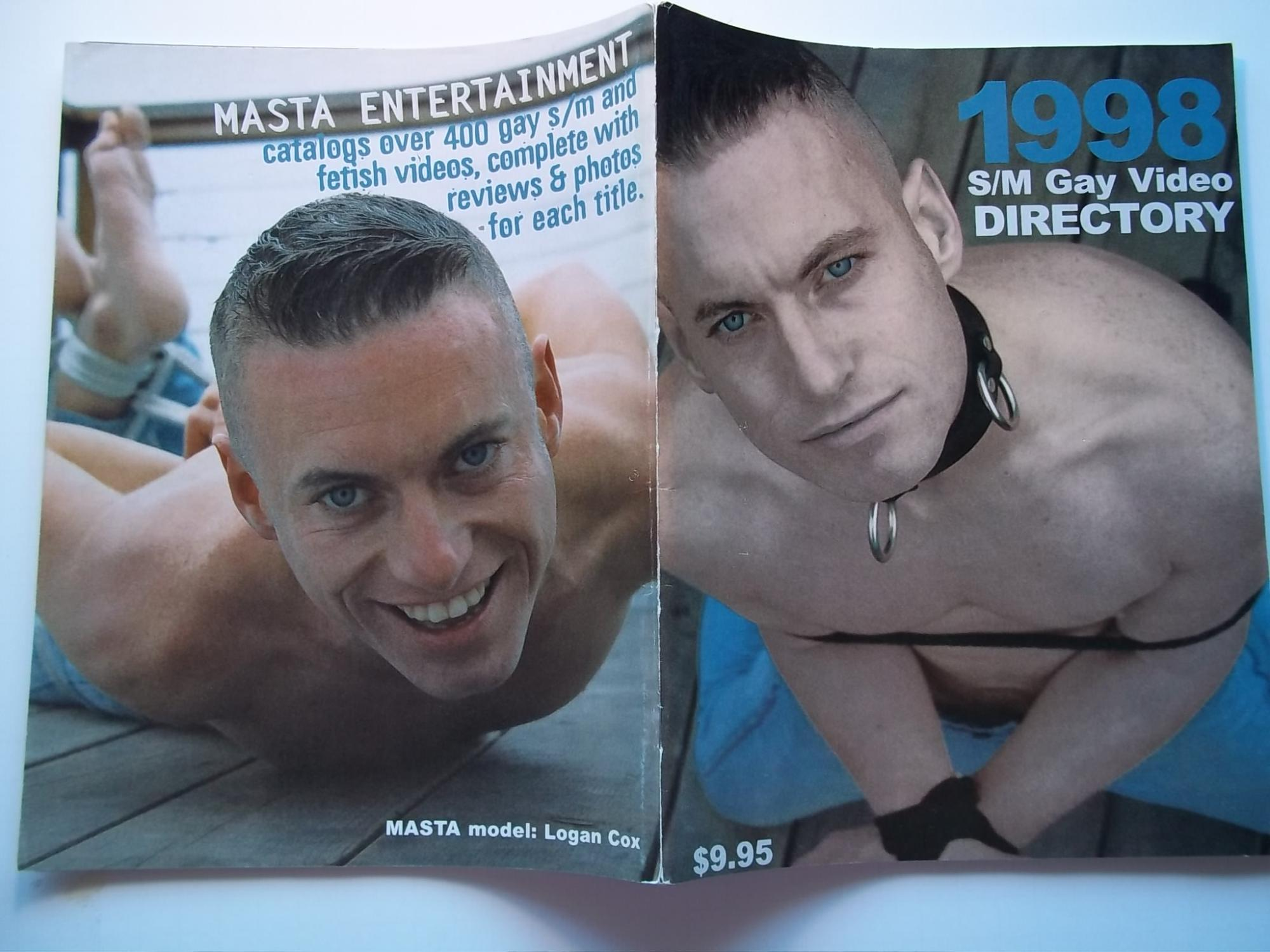 1998 S/M Gay Video Directory (Male Nude Leather Bondage Fetish Photographs Photos) Steve Landess and Masta Entertainment (Publishers)