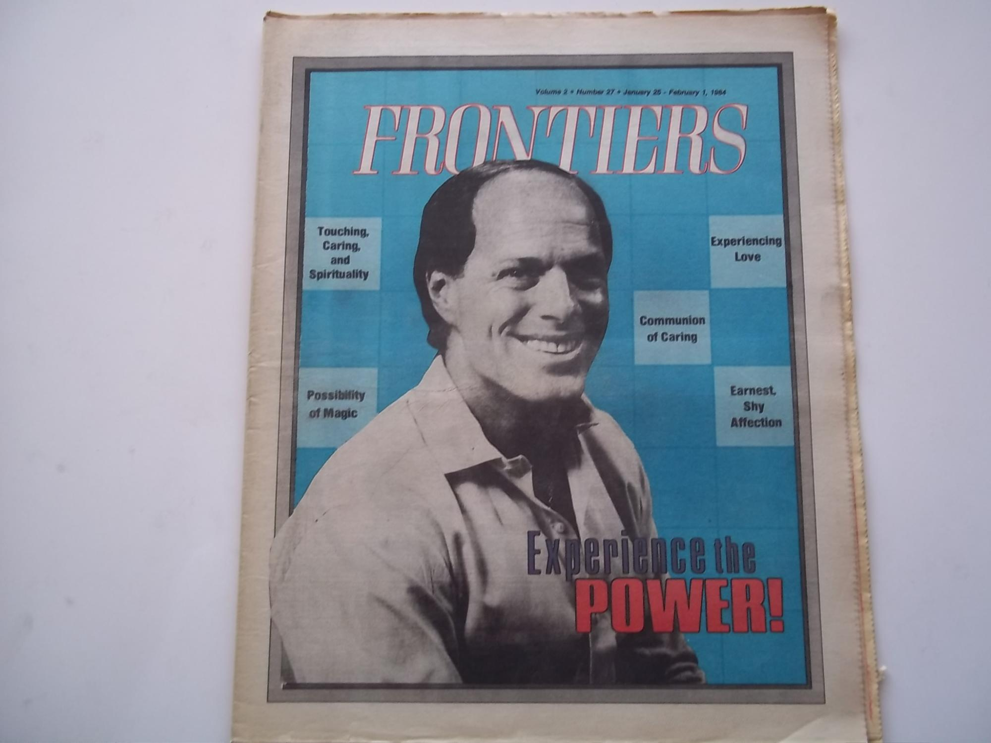 Frontiers (Vol. Volume 2 Number No. 27, January 25-February 1, 1984) Gay Newsmagazine News Magazine