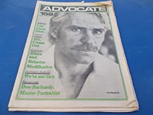 The Advocate (Issue No. 159, March 12, 1975): Touching Your Lifestyle (Gay Newsprint Newsmagazine):...