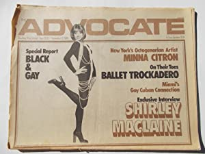 The Advocate (Issue No. 203, November 17, 1976): Touching Your Lifestyle, A Liberation Publication ...