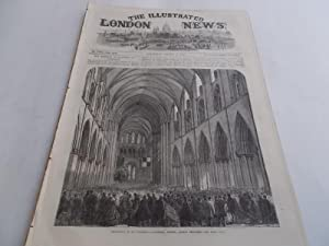 The Illustrated London News (March 11, 1865, Vol. XLVI No. 1305) Complete Issue: George C. Leighton...