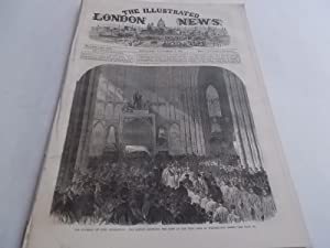 The Illustrated London News (November 4, 1865, Vol. XLVII, No. 1341) Complete Issue: George C. ...