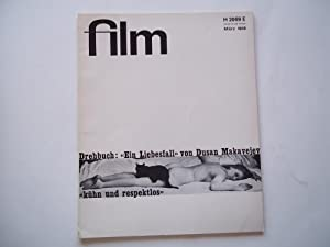 Film: Eine Deutsche Filmzeitschrift (#3 March 1968) German Film Magazine (Later Issues Entitled &...