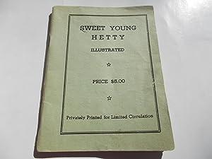 Sweet Young Hetty (1940s Paris Parisian France Underground Erotic Pornographic Pornography Booklet ...