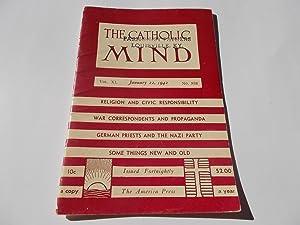 The Catholic Mind (No. 938, January 22, 1942) Digest Magazine: Francis X. Talbot, S.J. (...