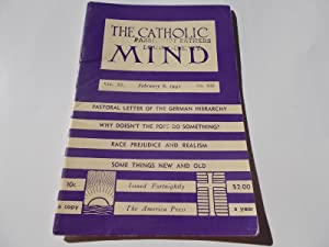 The Catholic Mind (No. 939, February 8, 1942) Digest Magazine: Francis X. Talbot, S.J. (...