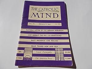 The Catholic Mind (No. 939, February 8, 1942) Digest Magazine: Francis X. Talbot, S.J. (...