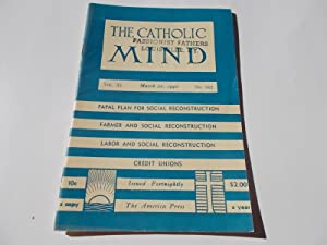 The Catholic Mind (No. 942, March 22, 1942) Digest Magazine: Francis X. Talbot, S.J. (...