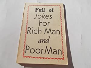 Full of Jokes For Rich Man and: Ceagee Publishing Company