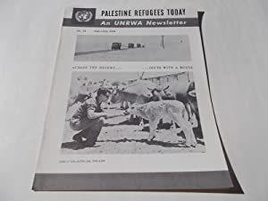 Palestine Refugees Today: An UNRWA Newsletter (No. 34 June-July 1964) Magazine (The United Nations ...