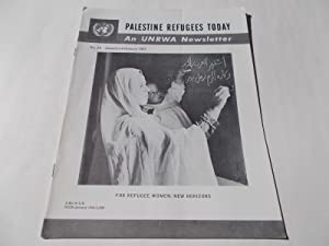 Palestine Refugees Today: An UNRWA Newsletter (No. 39 January-February 1965) Magazine (The United ...