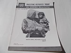 Palestine Refugees Today: An UNRWA Newsletter (No. 44 November-December 1965) Magazine (The United ...
