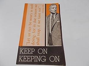 Keep On Keeping On (American Tract Society): Flynn, Leslie B.