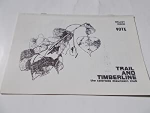 Trail and Timberline (No. 753, October 1981): Kelley, Donna L.