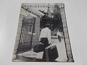 Georgetown Today (Vol. 1 No. 1 September 1968) (Georgetown University Magazine): Friedheim, Robin (...