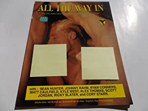 ALL THE WAY IN: The Hit Video Now Becomes a Best Selling Magazine! (Gay Male Porn Adult Erotic ...