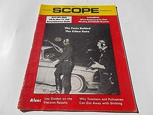 Detroit Scope Magazine (Volume 1 No. 32, November 16, 1968): The Magazine That Tells It the Way It ...