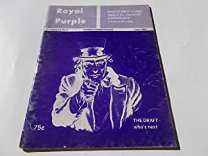 Royal Purple (Vol. II 2 No. II 2, June 1968): A Publication of Cypress Junior College, Cypress, ...
