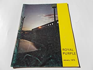 Royal Purple (Vol. IV 4 No. I 1, January 1970): A Publication of Cypress Junior College, Cypress, ...