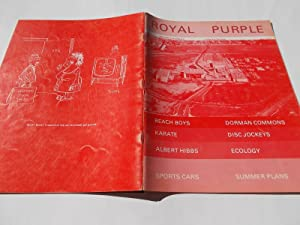 Royal Purple (Vol. IV 4 No. II 2, May 1970): A Publication of Cypress Junior College, Cypress, ...