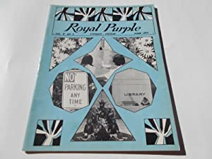 Royal Purple (Vol. V 5 No. II 2, June 1971): A Publication of Cypress Junior College, Cypress, ...