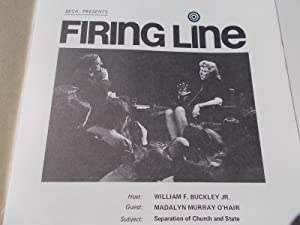 Firing Line Program Transcript (No. 3 1971) William F. Buckley, Jr. (Host) Madalyn Murray O'...