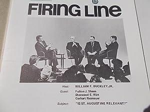 Firing Line Program Transcript (No. 11 1971): Warren Steibel (Producer