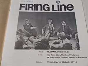 Firing Line Program Transcript (No. 20 1971) William F. Buckley, Jr. (Host) Renee Short and John ...