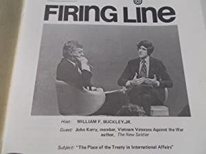Firing Line Program Transcript (No. 25 1971) William F. Buckley, Jr. (Host) John Kerry (Guest) &...