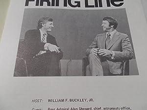 Firing Line Program Transcript (No. 100 1973) William F. Buckley, Jr. (Host) Rear Admiral Alan ...