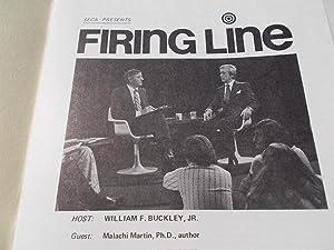 Firing Line Program Transcript (No. 119 1973): Warren Steibel (Producer