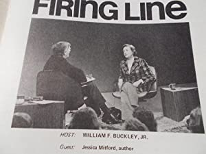 Firing Line Program Transcript (No. 122 1974) William F. Buckley, Jr. (Host) Jessica Mitford (Guest...