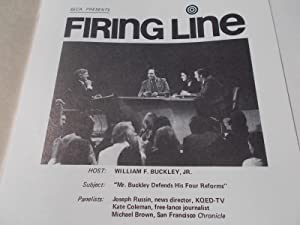 Firing Line Program Transcript (No. 124 1974): Warren Steibel (Producer