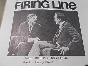 Firing Line Program Transcript (No. 140 1974) William F. Buckley, Jr. (Host) Ramsey Clark (Guest) &...