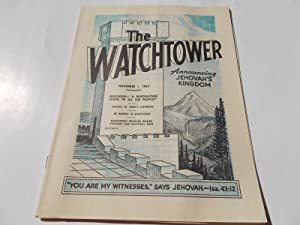 The Watchtower (November 1, 1964): Announcing Jehovah's: Watch Tower Bible
