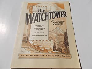 The Watchtower (October 1, 1973): Announcing Jehovah's: Watch Tower Bible