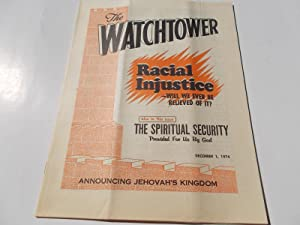 The Watchtower (December 1, 1974): Announcing Jehovah's: Watch Tower Bible