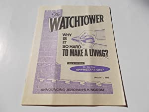 The Watchtower (January 1, 1975): Announcing Jehovah's: Watch Tower Bible