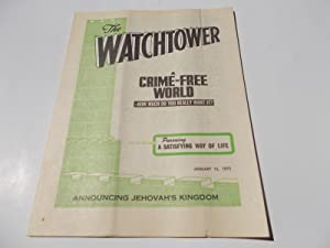 The Watchtower (January 15, 1975): Announcing Jehovah's: Watch Tower Bible