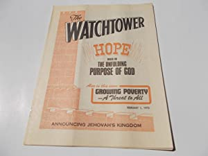 The Watchtower (February 1, 1975): Announcing Jehovah's: Watch Tower Bible