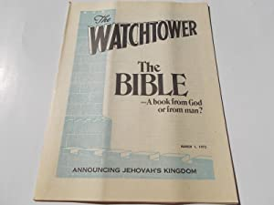 The Watchtower (March 1, 1975): Announcing Jehovah's: Watch Tower Bible