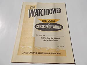 The Watchtower (April 1, 1975): Announcing Jehovah's: Watch Tower Bible