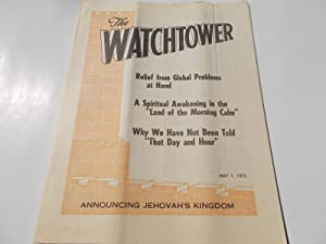 The Watchtower (May 1, 1975): Announcing Jehovah's: Watch Tower Bible