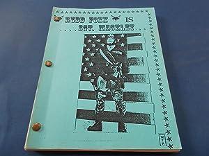 "Sgt. Mackley [""Redd Foxx Is Sgt. Mackley""] (First Draft For Proposed Film) Original ..."