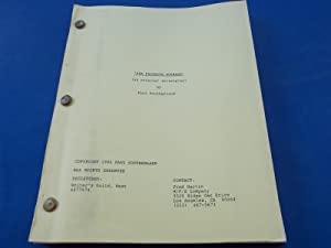 Her Favorite Husband: An Original Screenplay (Shooting Script For Proposed Film) Original Script ...