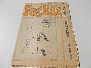 Fag Rag (No. 19 Nineteen Spring 1977): Fag Rag Collective