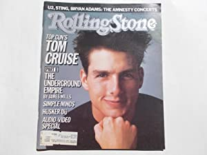 Rolling Stone (Issue 476, June 19, 1986) Magazine (Cover Feature: Top Gun's Tom Cruise)