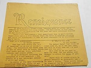 Renaissance (Issue No. 1 - December 1970) Long Beach, California, Millikan High School Underground ...