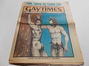 Gaytimes (Gay Times) (Issue No. 38 1975): Robert Leighton (Editor)