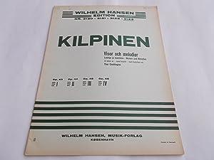 Visor Och Melodier - Op. Opus 46 Nr. 1, 2, 3 (Wilhelm Hansen Edition No. 3123) (Sheet Music Book): ...